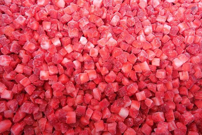 加酶草莓丁